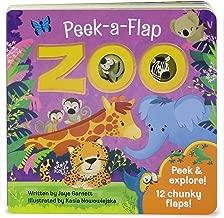 Zoo: Peek-a-Flap Board Book