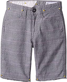 Volcom Kids Gritter Thrifter Shorts (Big Kids)