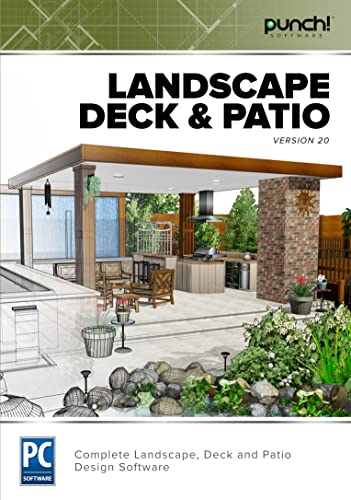 Punch! Landscape, Deck & Patio v20 [Download]