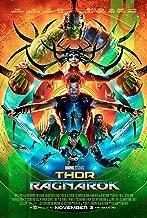 Thor: Ragnarok Movie Poster Limited Print Photo Chris Hemsworth, Tom Hiddleston, Cate Blanchett Size 11x17 #1