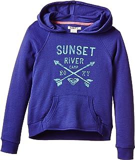 Roxy Tide Rush Solid - Sudadera con capucha para niñas
