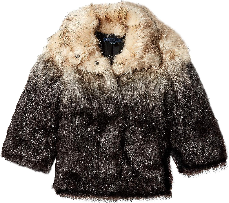 French Connection Women's Johanna Fur Coat