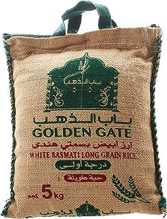 Golden Gate White Basmati Long Grain Rice, 5 Kg - 6287009740067