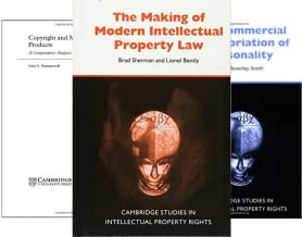 Cambridge Intellectual Property and Information Law (50 Book Series)