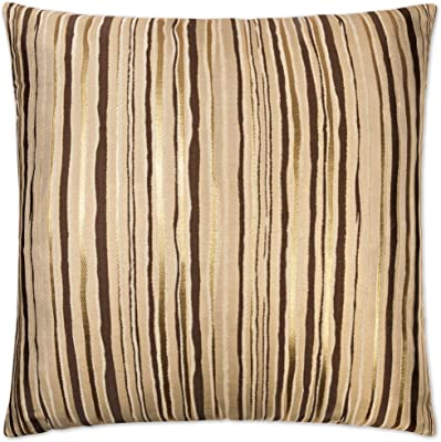 Beige Rizzy Home T10783 Decorative Poly Filled Throw Pillow 20 x 20 Ivory