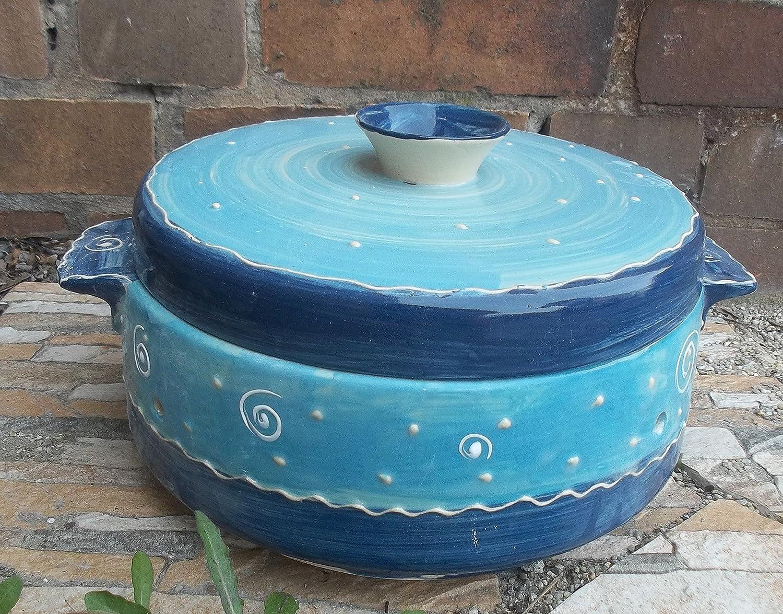 Brottopf mit Griffen Keramik in puncto B00INASG64