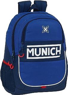 612074665 Mochila Escolar de Munich Retro, 320x160x440mm