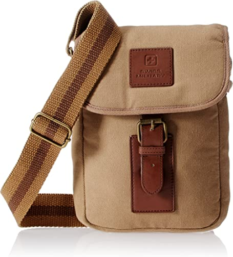 Swiss Military Canvas Beige Sling Bag (CAN-3) product image