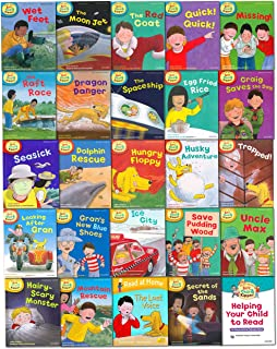 Oxford Reading Tree Read With Biff Chip Kipper Collection 25 Books Set Level 4-6 by Roderick Hunt (2015-11-09)