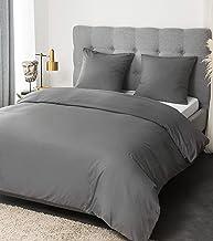 2taies doreillers 65x65cm Parure de lit pour 2 Personnes AYA Sets de Housse de Couettes 220x240cm