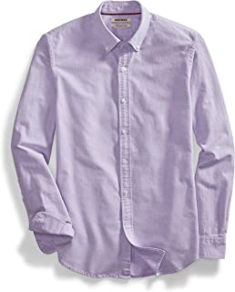 77c851bf26 Goodthreads Men s Slim-Fit Long-Sleeve Solid Oxford Shirt