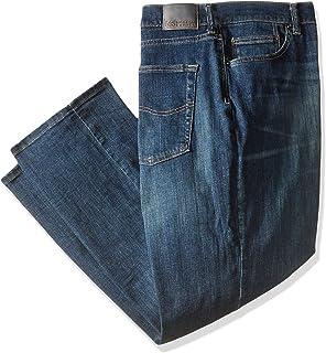 Lee Uniforms mensBig-Tall Modern Series Athletic Fit Straight Leg Jean Jeans - Blue - 60W x 30L