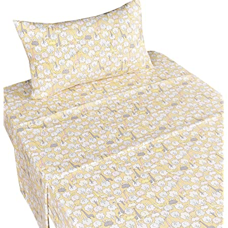 Ambesonne Fitted Sheet Soft Decorative All Around Elastic Pocket