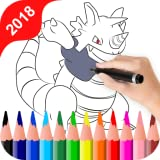 Monster Evolution Pocket Coloring Book