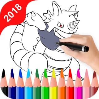 Monster Evolution Pocket Coloring Book