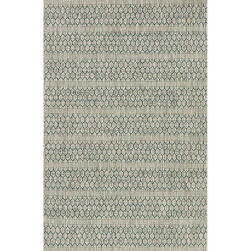 Loloi Isle Collection Indoor/Outdoor Area Rug, 9'-2  x 12'-1 , grey