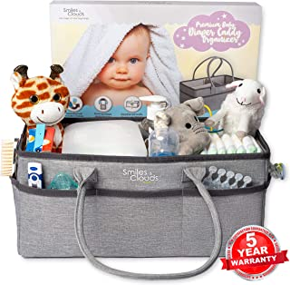 Best grey diaper caddy Reviews
