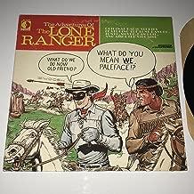 The Adventures of The Lone Ranger-original radio stories [vinyl record]