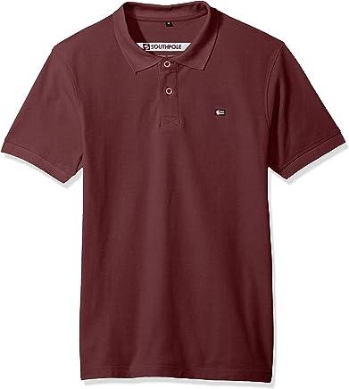 Southpole Mens Classic Short Sleeve Solid Polo Shirt Short Sleeve Polo Shirt
