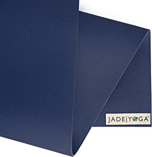 JadeYoga Fusion Yoga & Pilates Mat - Midnight Blue
