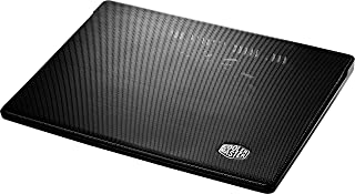 Cooler Master R9-NBC-300LR-GP - Base de refrigeración para Ordenador portátil (USB, 1.9 W, LED Rojo), Negro