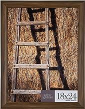 إطار صور معلق كبير للحائط 16FP2210 مقاس 18x24 من جاليري سولوشن، مقاس 45.72 سم × 60.96 سم، لون الجوز