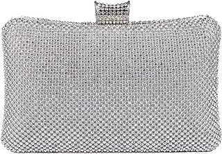 BAIGIO Sparkle Rhinestone Evening Clutch Purse Elegant Diamante Evening Bag Party Wedding Purses Handbag for Women