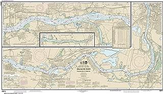 NOAA Chart 12314 Delaware River Philadelphia to Trenton: 26.38