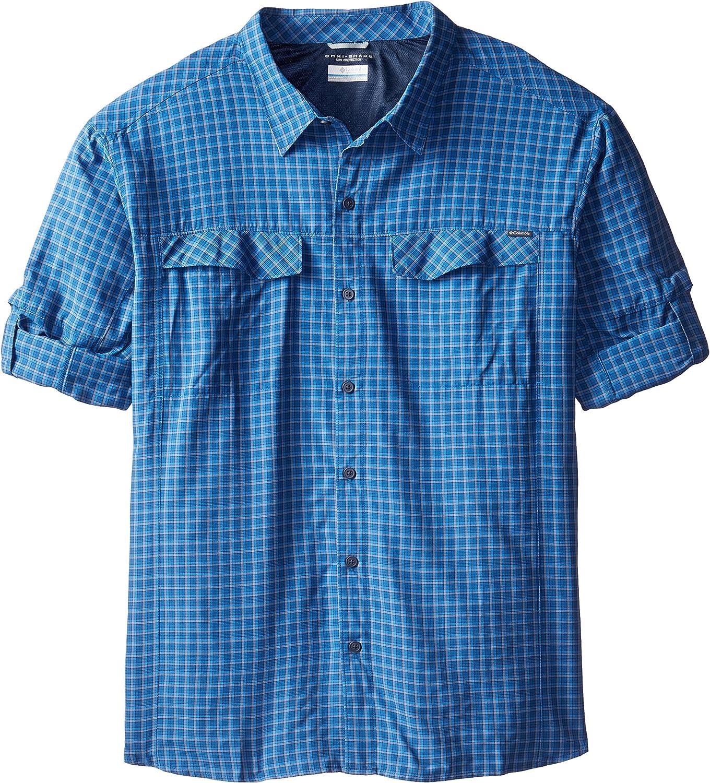 Columbia Sportswear Men's Sale SALE% OFF Big Silver Long Sleeve Popular shop is the lowest price challenge Shi Plaid Ridge
