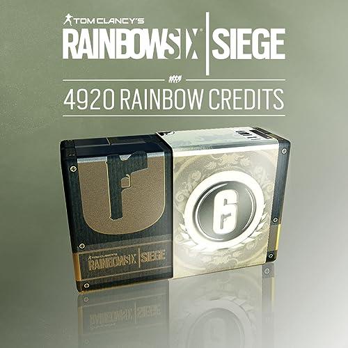 Tom Clancy's Rainbow Six Siege - Pack de 4920 Crédits [Code Jeu PC - Uplay]