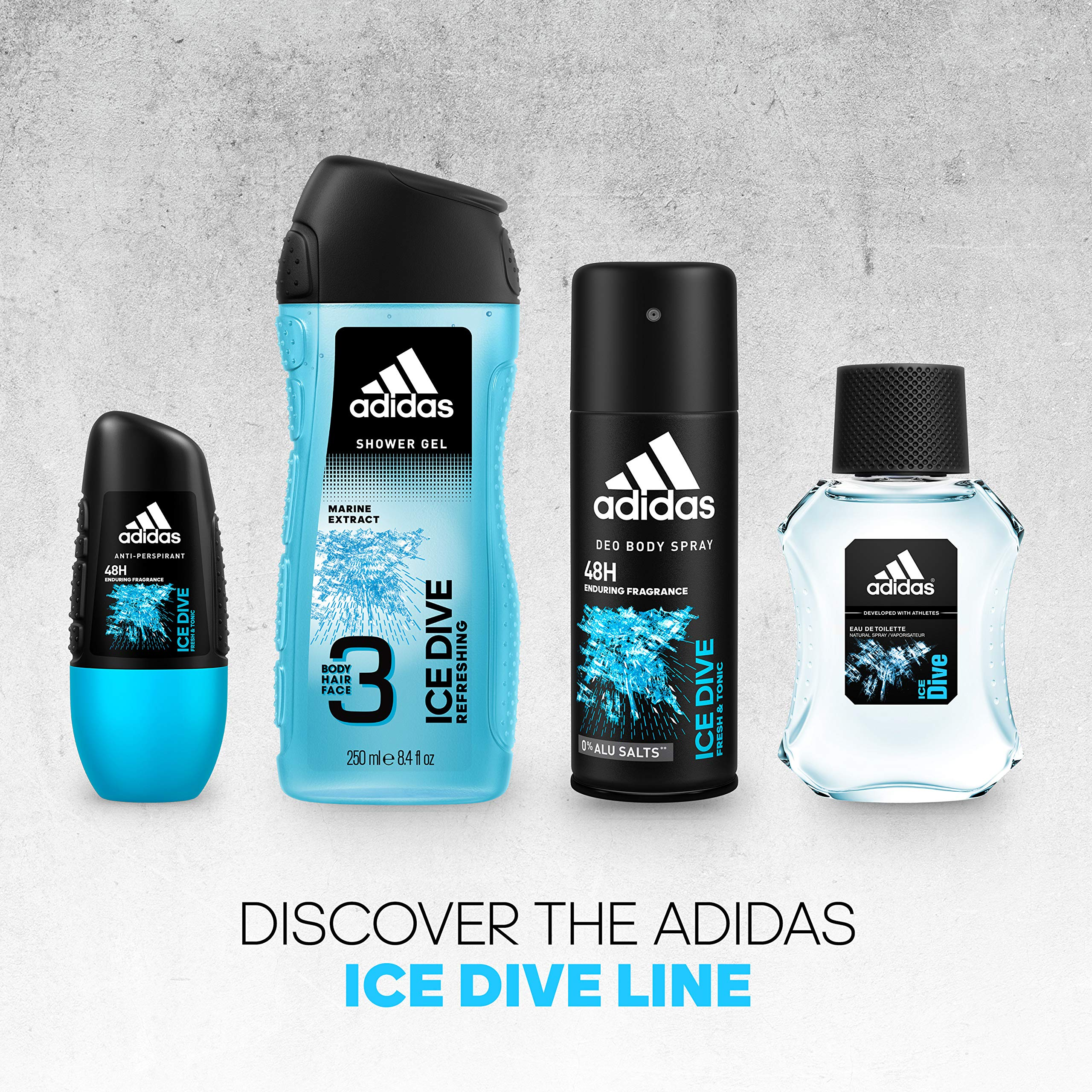 adidas Ice Dive Anti-Perspirant Roll-On For Him 50 ml