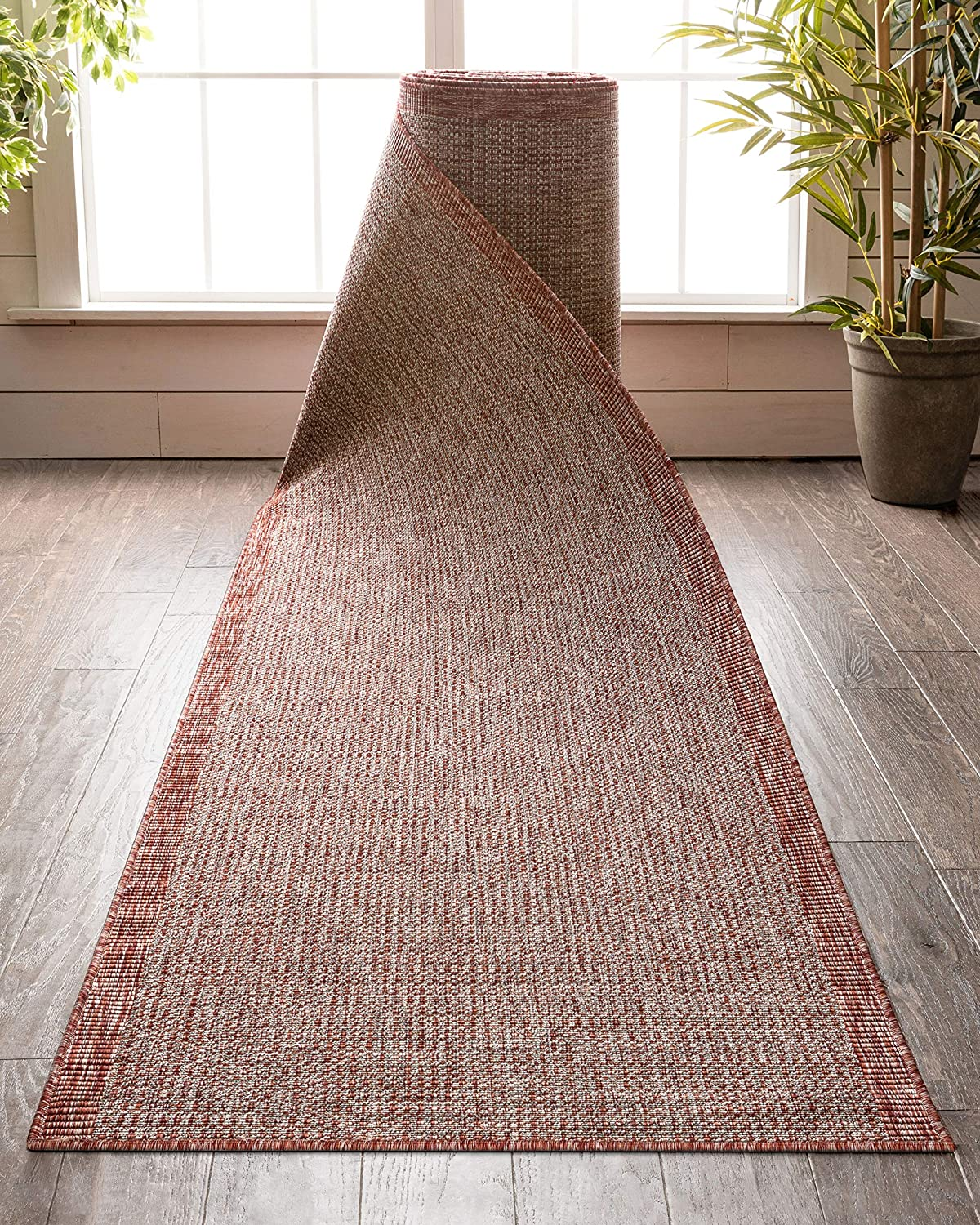 Custom Size Sale price Indoor Max 61% OFF Outdoor Runner-Choose Your Coral Length-Woden