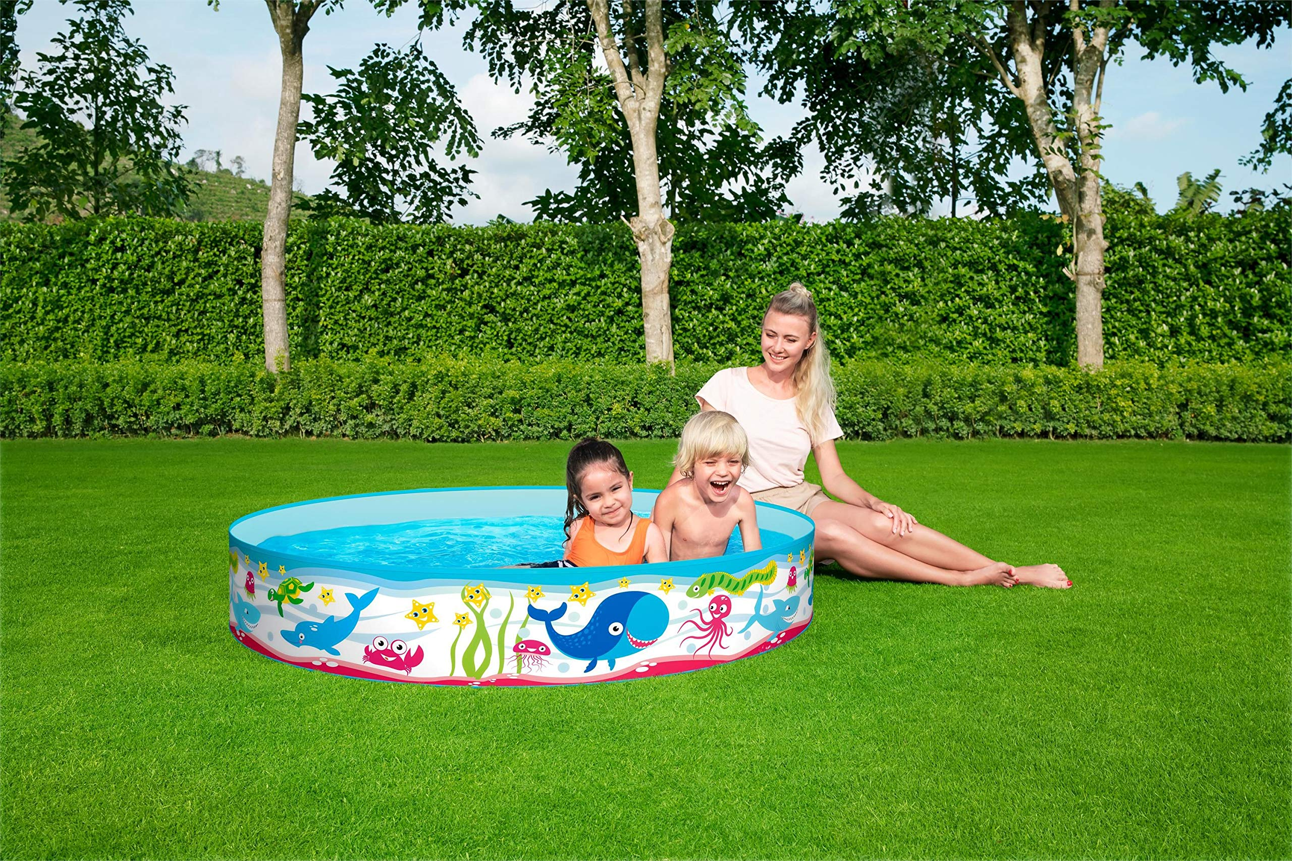 Piscina Infantil Bestway Fill N Fun Odyssey 152 cm: Amazon.es ...