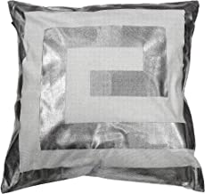 Kensie James Decorative Pillows, Inserts & Covers, White-Silver