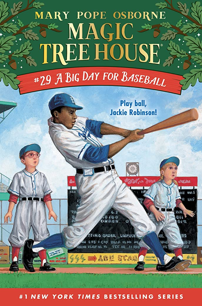 A Big Day for Baseball (Magic Tree House (R) Book 29) (English Edition)