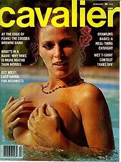 VINTAGE CAVALIER FEBRUARY 1979 BUSTY MAGAZINE Nice Sian Adey Jones Cover & Layout