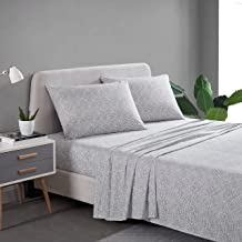 City Scene - Percale Collection - Bed Sheet Set - 100% Cotton, Crisp & Cool, Lightweight & Moisture-Wicking Bedding, Quee...