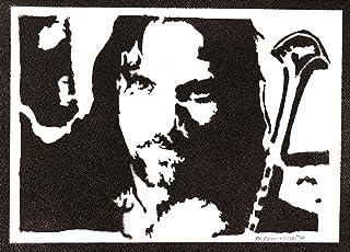 Poster Aragorn El Señor de los Anillos Grafiti Hecho a Mano The Lord of the Rings Handmade Street Art - Artwork