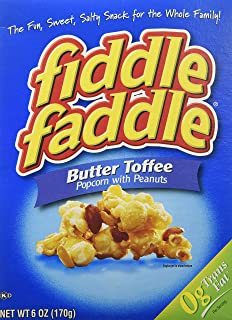 Fiddle Faddle - Butter Toffee with Peanuts - 2 boxes