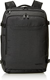 AmazonBasics Slim Carry On Backpack, Black