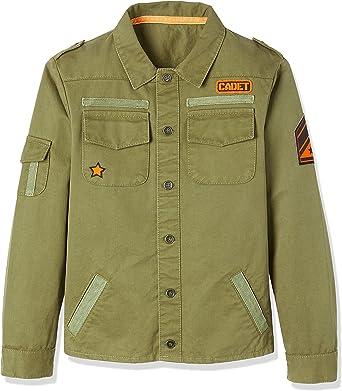Marca Amazon - RED WAGON Military Jacket, Chaqueta Para Niños