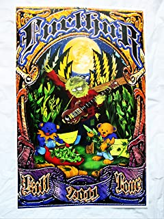 2011 Furthur Grateful Dead Jerry Garcia Pot Harvest Concert Poster Fall Tour