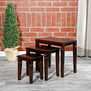 Best traditional nesting tables set of 3 cherry Reviews