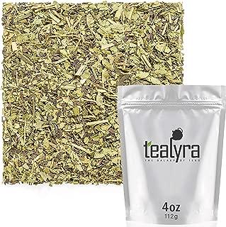 Tealyra - Lemon Green Detox - Yerba Mate - Matcha Green Tea Powder - Verbena - Wellness Herbal Loose Leaf Tea - Caffeine Low - All Natural - 112g (4-ounce)