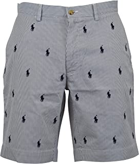 Ralph Lauren Polo Mens Classic Fit Flat Front Casual Shorts
