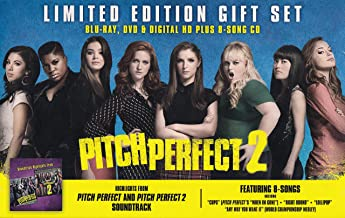 Pitch Perfect 2: Limited Edition Gift Set - [Blu-Ray, DVD & Digital HD + 8 Song CD]