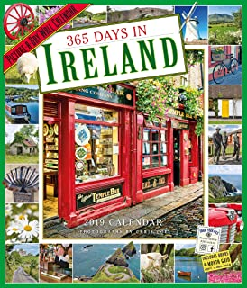 365 Days in Ireland Picture-A-Day Wall Calendar 2019 [12