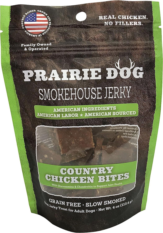 Prairie Dog Smokehouse Country Sale Save money special price Chicken Treats Oz. Bites 4