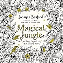 {Johanna Basford} Paperback Magical Jungle: an Inky Expedition and Coloring Book for Adults