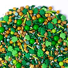 Sweets Indeed Lucky Leprechaun Sprinklefetti, 8 ounce, Shamrocks, Clovers, Sprinkles for Baking